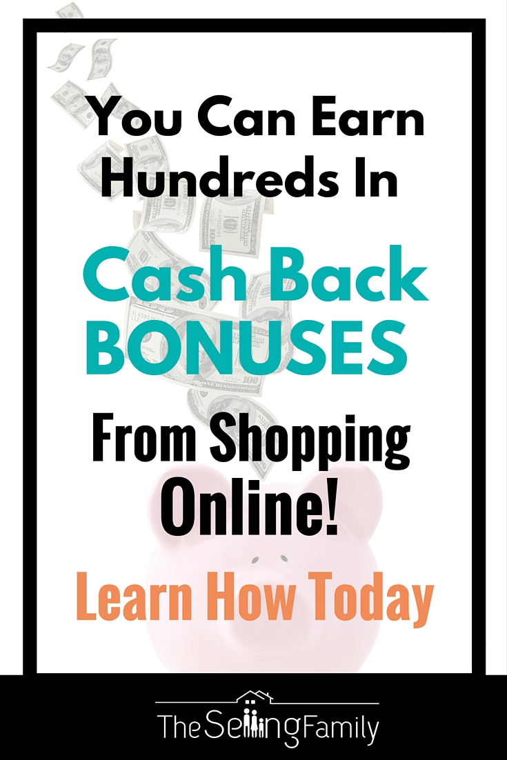Are you getting cash back on your online purchases?  See how we've used Ebates to earn over $4,000 in cash back for online purchases!  It's super easy.