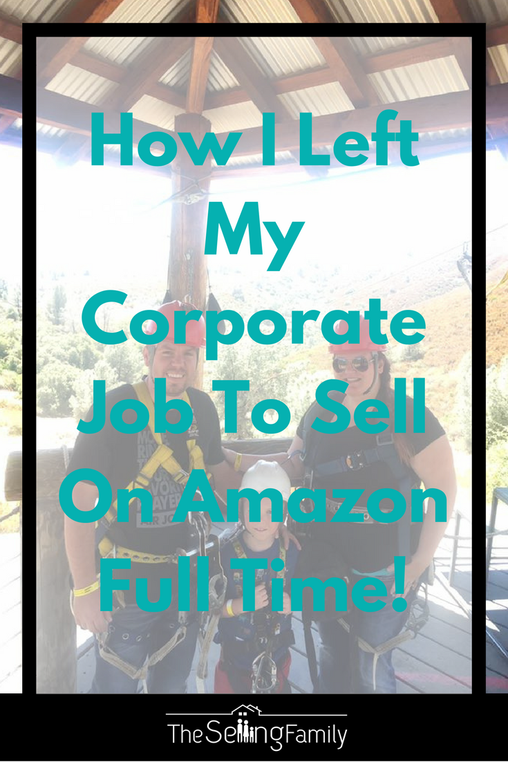 How I Left My Corporate Job To Sell On Amazon Full Time