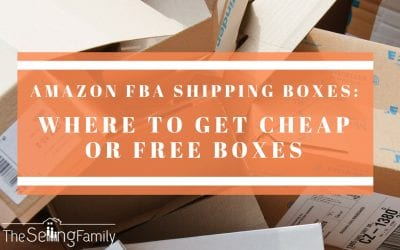 Amazon FBA Shipping Boxes: Where to Get Cheap or Free Boxes