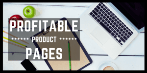 profitable product pages