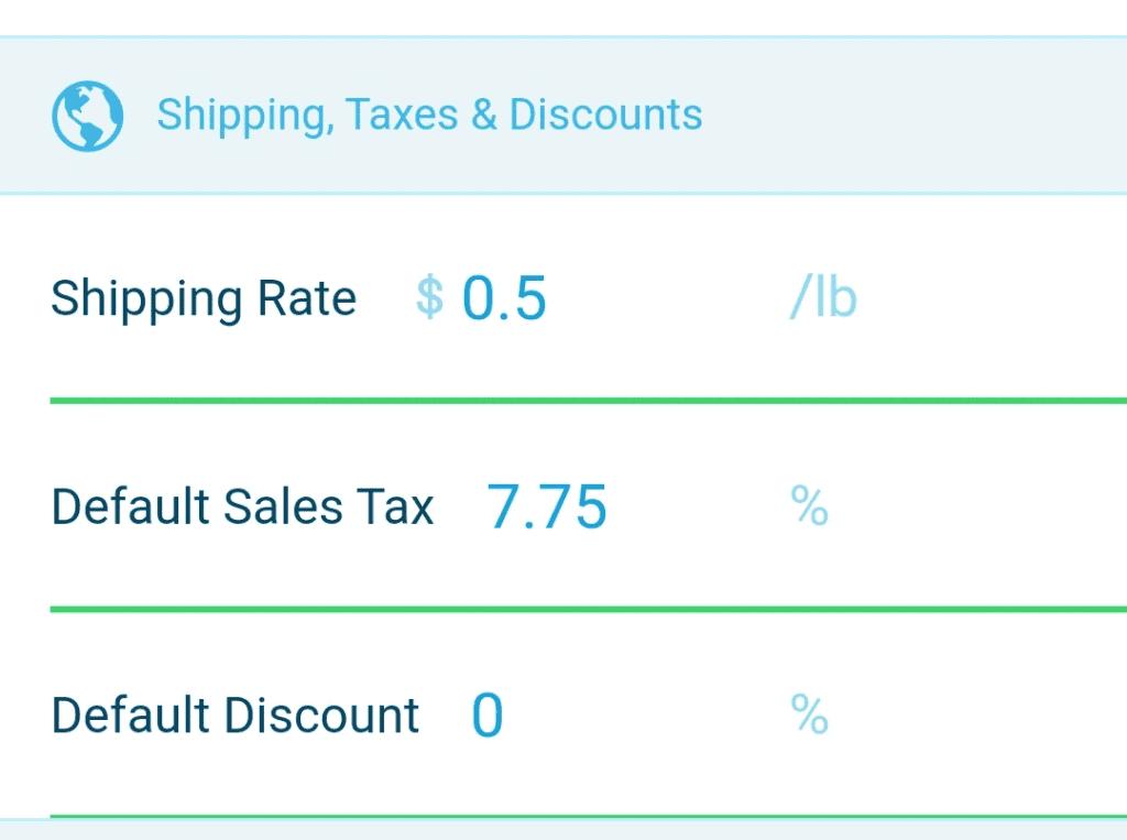 Profit settings in Scoutify 2