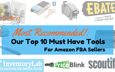 Top 10 Tools For Amazon FBA Sellers – Must Have For 2015