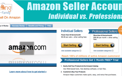Deciding Between A Professional Or Individual Seller Account On Amazon