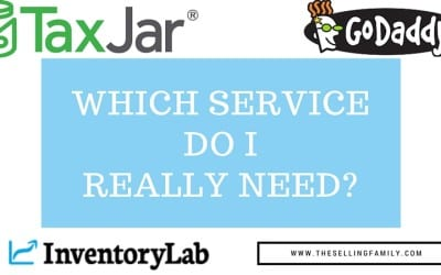Go Daddy Vs Inventory Lab Vs Tax Jar (Comparing The Money Tools That FBA Sellers NEED)