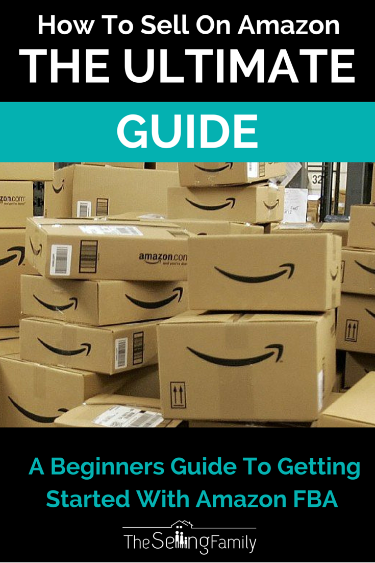 The ultimate guide to getting started with an Amazon FBA business. Read it today!