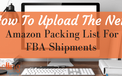 How To Upload The New Amazon Pack List For FBA Shipments