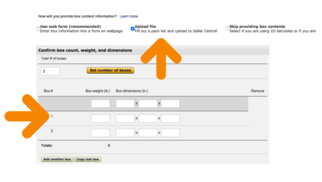 How to upload the new amazon pack list for fba shipments for Packing slip template google docs