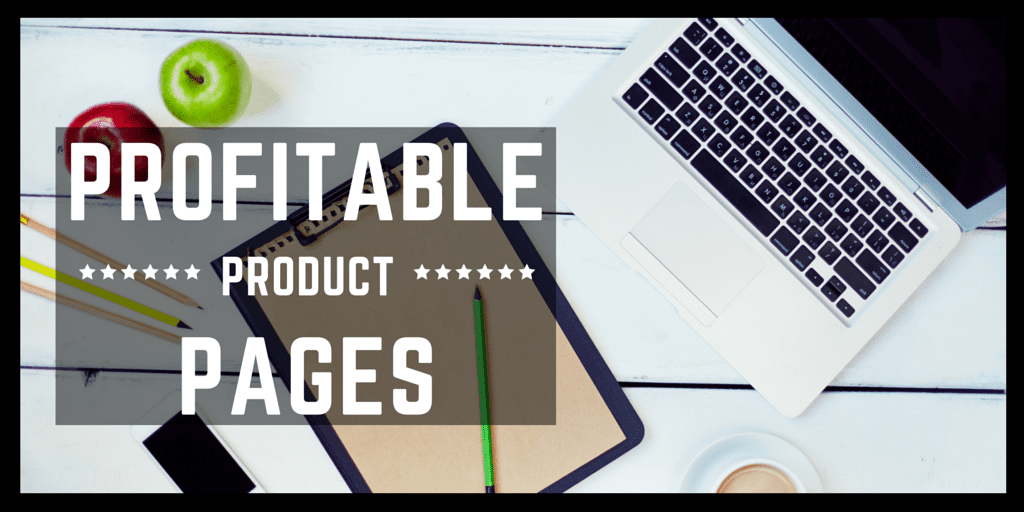 Profitable Products Pages Title Image