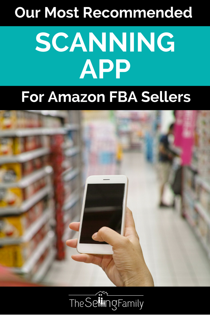 Our Most Recommended Scanning App For Amazon FBA Sellers