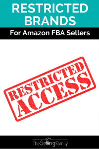 Restricted Brands For Amazon FBA Sellers