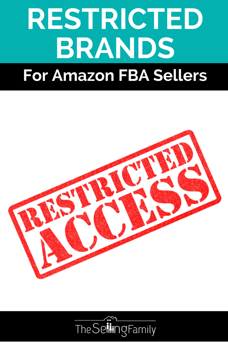 Don't let Amazon brand restrictions get you down! We've got your back by keeping an updated list of brands that can or can not be sold on Amazon by third party (FBA) sellers.