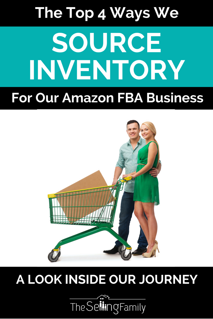 The Top 4 Ways We Source Inventory For Our Amazon FBA Business