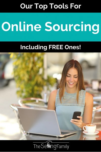 Our most recommended tools for online sourcing. Some are free and some are paid. These can help productivity in your Amazon selling business.