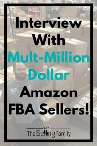 Interview With Mult-Million Dollar Amazon FBA Sellers!