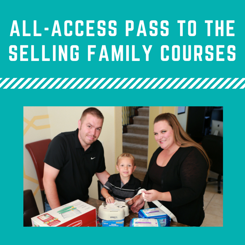 Get instant access to all of The Selling Family Trainings