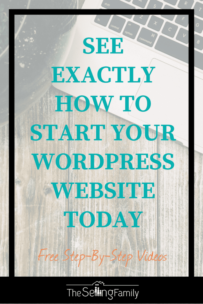 Learn how to start a profitable website today using WordPress and Divi.  Free videos included to make it super easy!