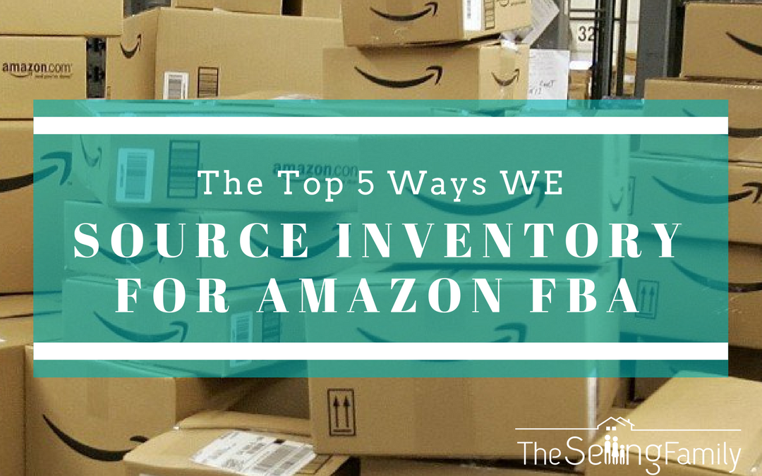 The Top 5 Ways We Source Inventory For Amazon FBA