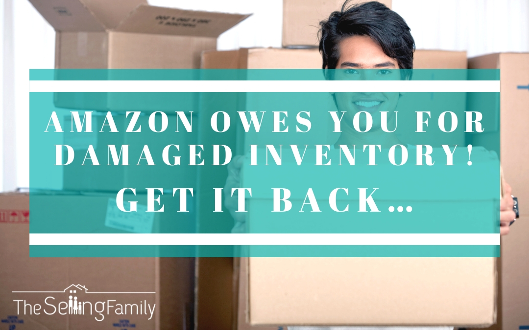 Amazon Owes You For Damaged Inventory!  Get It Back…