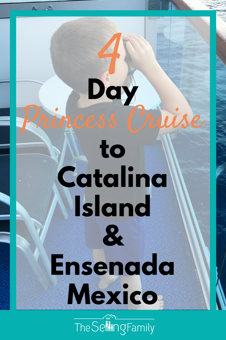The Selling Family Review of the 4 Day Princess Cruise from Los Angeles to Ensenada Mexico.  See all of the highlights and why we recommend this cruise for a family with kids.  Totally family friendly and a great starter cruise.