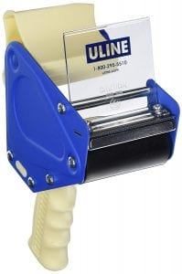 "3"" tape gun by Uline"
