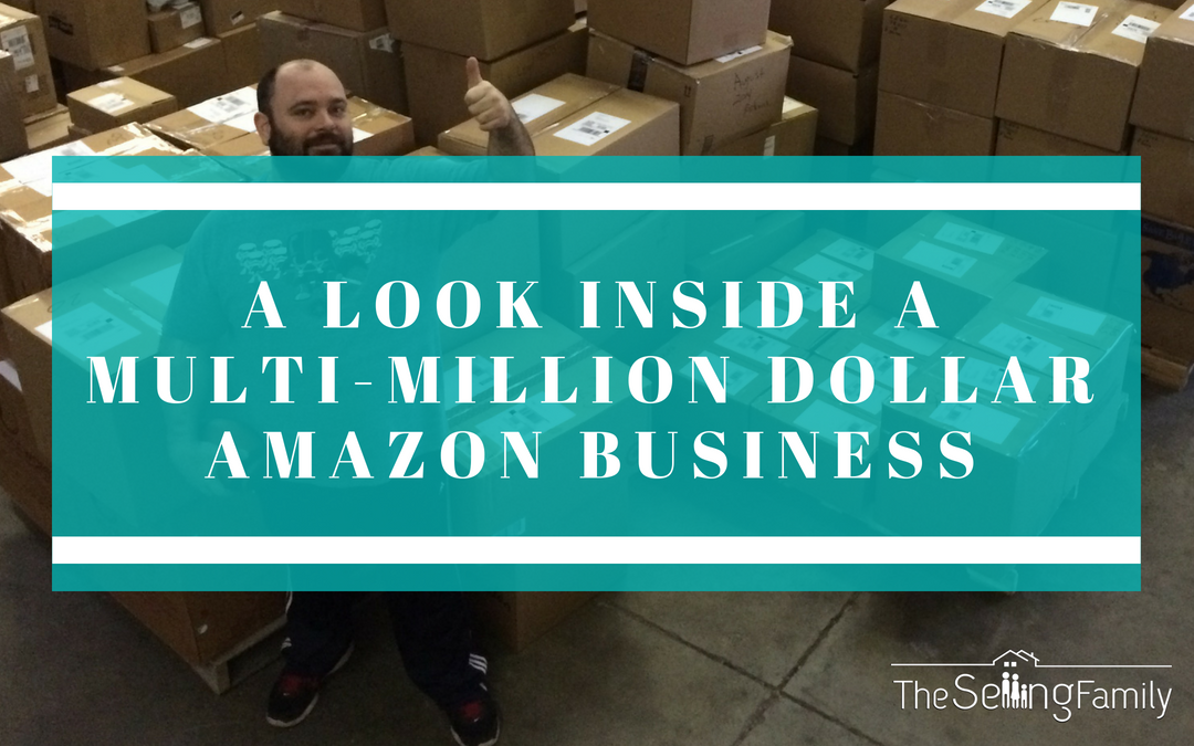 A Look Inside Of A Multi Million Dollar Amazon FBA Business