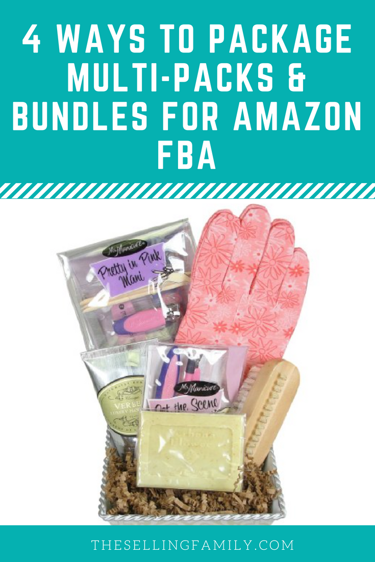 How To Package Multi Packs & Bundles For Amazon FBA