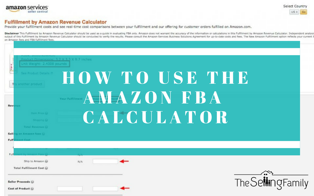 FBA Calculator: How This Free Tool Helps You Run a Profitable Amazon Business