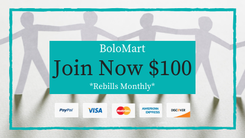 BoloMart Buy Button $100