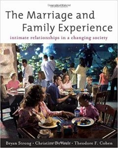 Cover of The Marriage and Family Experience