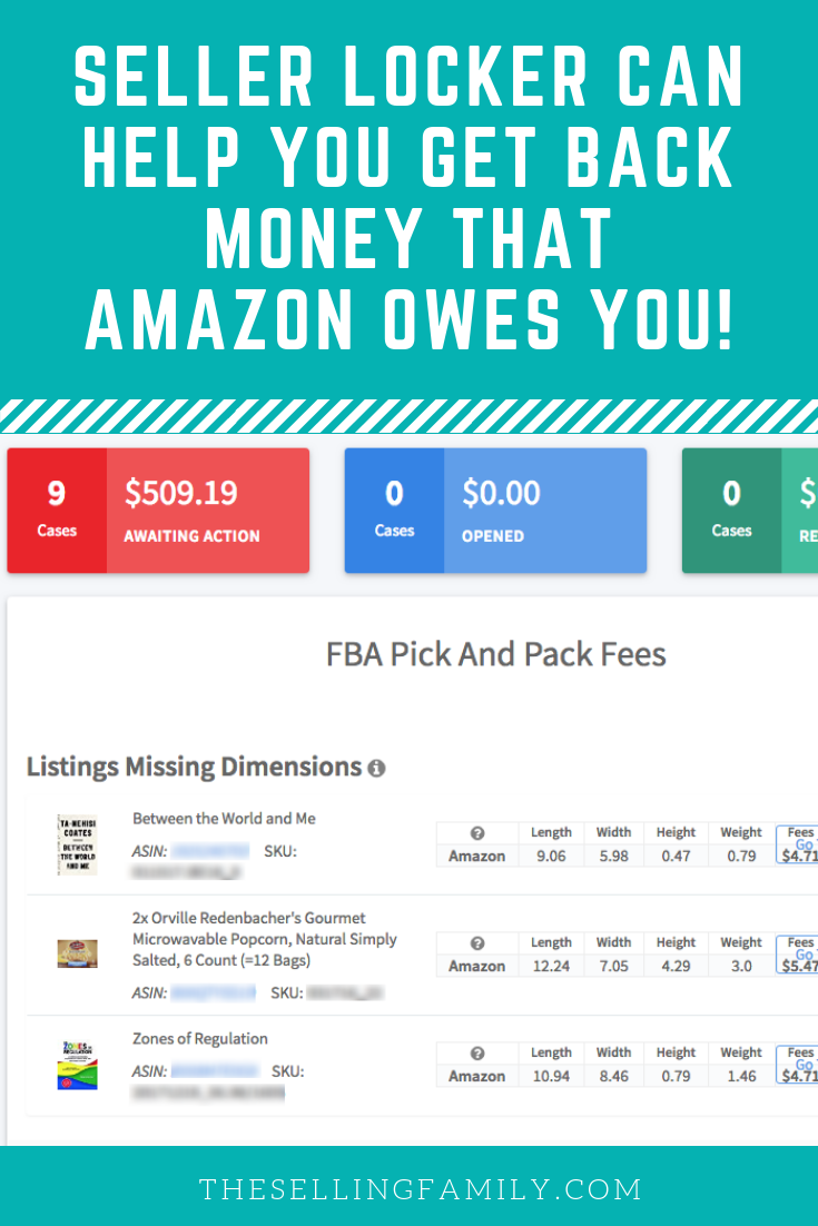 Seller Locker Can Help You Get Money That Amazon Owes You. This post shows you exactly how easy it really is.