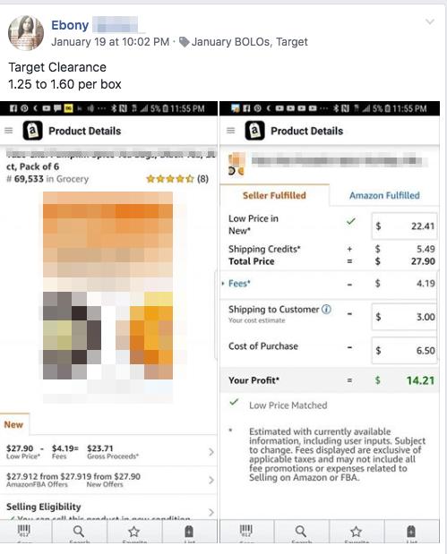 BoloMart Target Example