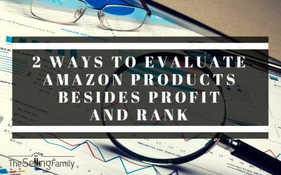 2 Ways to Evaluate Amazon Products Besides Profit and Rank
