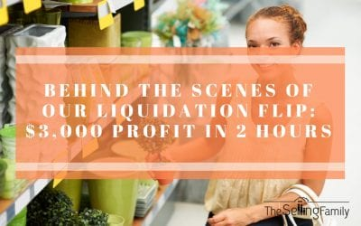 Behind the Scenes of Our Liquidation Flip: $3,000 Profit in 2 Hours