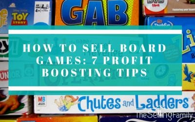 How to Sell Board Games: 7 Profit Boosting Tips