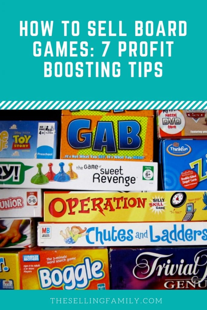 How to Sell Board Games - 7 Profit Boosting Tips