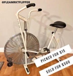 Selling an exercise bike on eBay