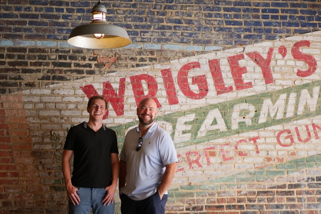 Dan Meadors and Dylan Frost of The Wholesale Formula